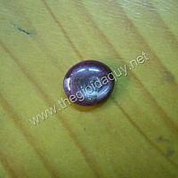 Mặt cacboncho đá Ruby Bát Quái