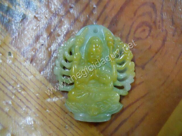 Mặt Phật ngàn tay cẩm thạch