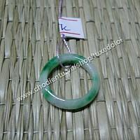 Nhẫn cẩm thạch xanh nhỏ