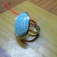 Nhẫn inox đá San hô