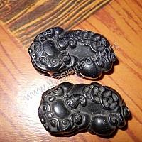 Tỳ hưu cõng tiền kim sa đá Phật Sơn