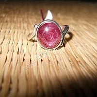 Nhẫn nữ Ruby ánh sao