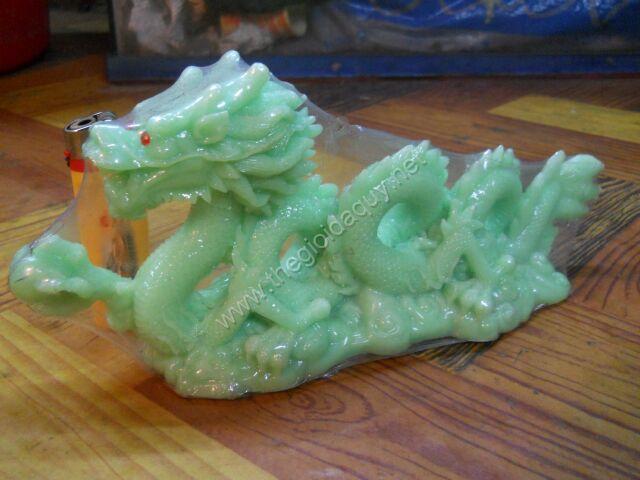 Tượng Rồng xanh bột đá