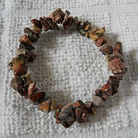 Vòng tay đá chalcedony tấm