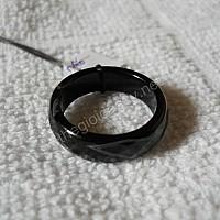 Nhẫn đá mã não đen