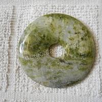 Đồng điếu đá chalcedony xanh