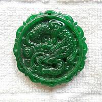 Mặt Rồng đá cẩm thạch xanh