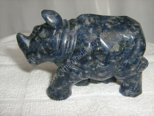 Tê Giác đá lapis lazuli lớn