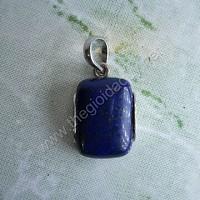 Mặt dây chuyền bạc đá lapis lazuli