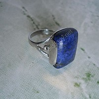 Nhẫn bạc đá lapis lazuli