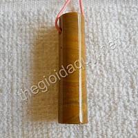 Mặt trụ đá chalcedony vàng
