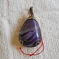 Mặt dây chuyền bạc đá Sugilite
