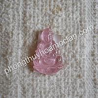 Quan âm bồ tát sapphire hồng nhỏ