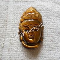 Mặt Phật Thủ đá mắt hổ