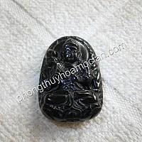 Phật bản mệnh Đại Thế Chí đá Hắc Ngà