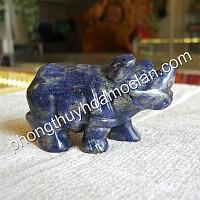 Tê Giác đá Lapis lazuli 68