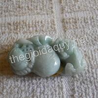 Cua Tỳ Hưu đá cẩm thạch