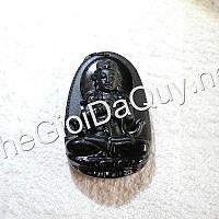 Phật bản mệnh Như Lai Đại Nhật đá Obsidian