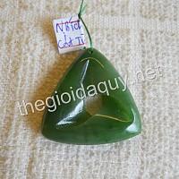 Mặt tam giác Cát tường đá Ngọc bích