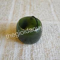 Nhẫn Ngọc bích Nephrite 19 bản