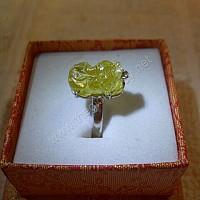 Nhẫn nữ Tỳ Hưu sapphire vàng