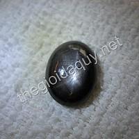 Mặt nhẫn sapphire đen sao
