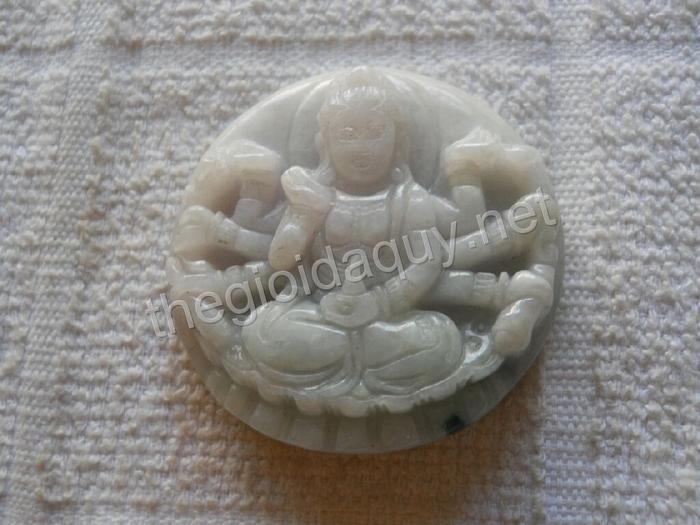Phật Nghìn Mắt Nghìn Tay cẩm thạch dày