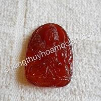 Đại Thế Chí Bồ Tát đá mã não đỏ