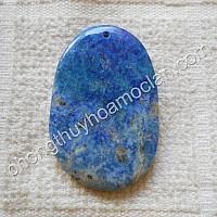 Mặt Oval đá Lapis lazuli