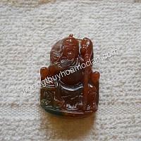 Quan Công đá Chalcedony đỏ