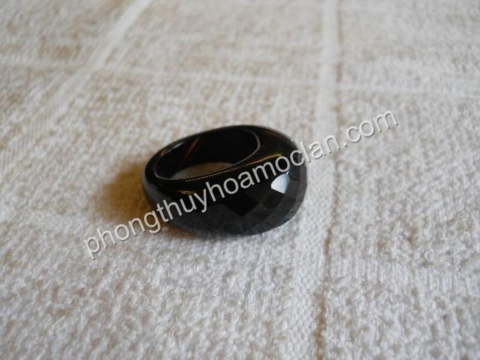 Nhẫn đá Phật Sơn mặt giác