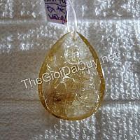 Phật bản mệnh Đại Thế Chí thạch anh tóc vàng 34