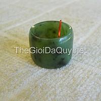 Nhẫn Ngọc bích Nephrite 20 bản