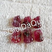 Mặt nhẫn Tỳ hưu Ruby
