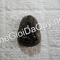 Phật bản mệnh Đại Thế Chí đá thạch anh đen 25