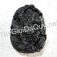 Chung Quỳ đá Obsidian lớn