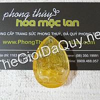 Phật bản mệnh Như Lai Đại Nhật đá thạch anh tóc vàng