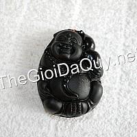 Di Lặc Hồ Lô đá Obsidian