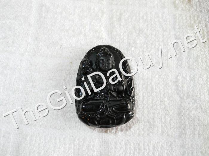 Phật bản mệnh Đại Thế Chí nhỏ Obsidian