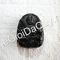 Phật bản mệnh Hư Không Tạng nhỏ Obsidian