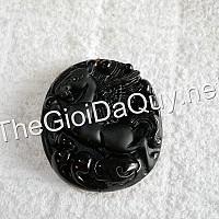 Mặt Ngựa bay đá Obsidian