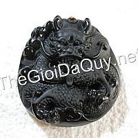 Mặt Rồng đá Obsidian