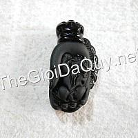 Tỳ Hưu tay Phật đá Obsidian