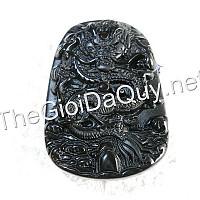 Mặt Rồng bay đá Obsidian