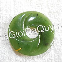 Đồng Điếu xoắn đá ngọc bích