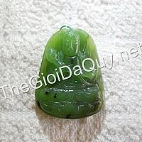Phật bản mệnh Đại Thế Chí đá ngọc bích A