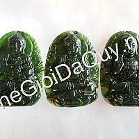 Phật bản mệnh A Di Đà đá Serpentine
