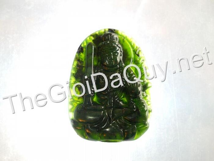 Phật bản mệnh Bất Động Minh Vương đá Serpentine