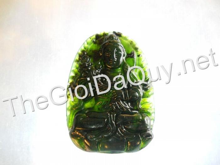 Phật bản mệnh Đại Thế Chí đá Serpentine