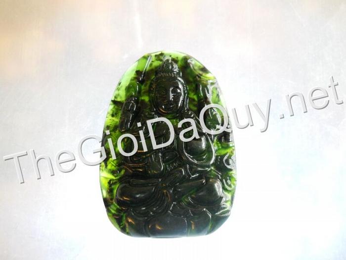 Phật bản mệnh Thiên Thủ đá Serpentine